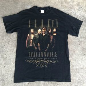Other - HIM Unisex Tour T-Shirt